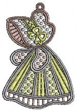 Denisa Lace Embroidery Design free angels free embroidery designs