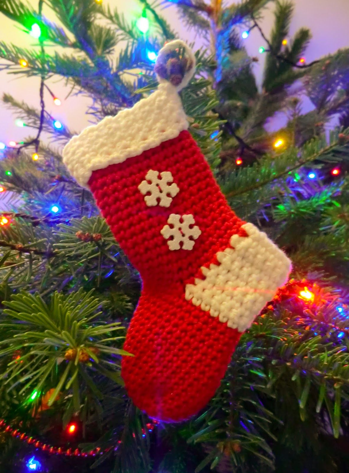 Christmas Stocking ~ Amigurumi Barmy | Crochet Christmas | Pinterest ...
