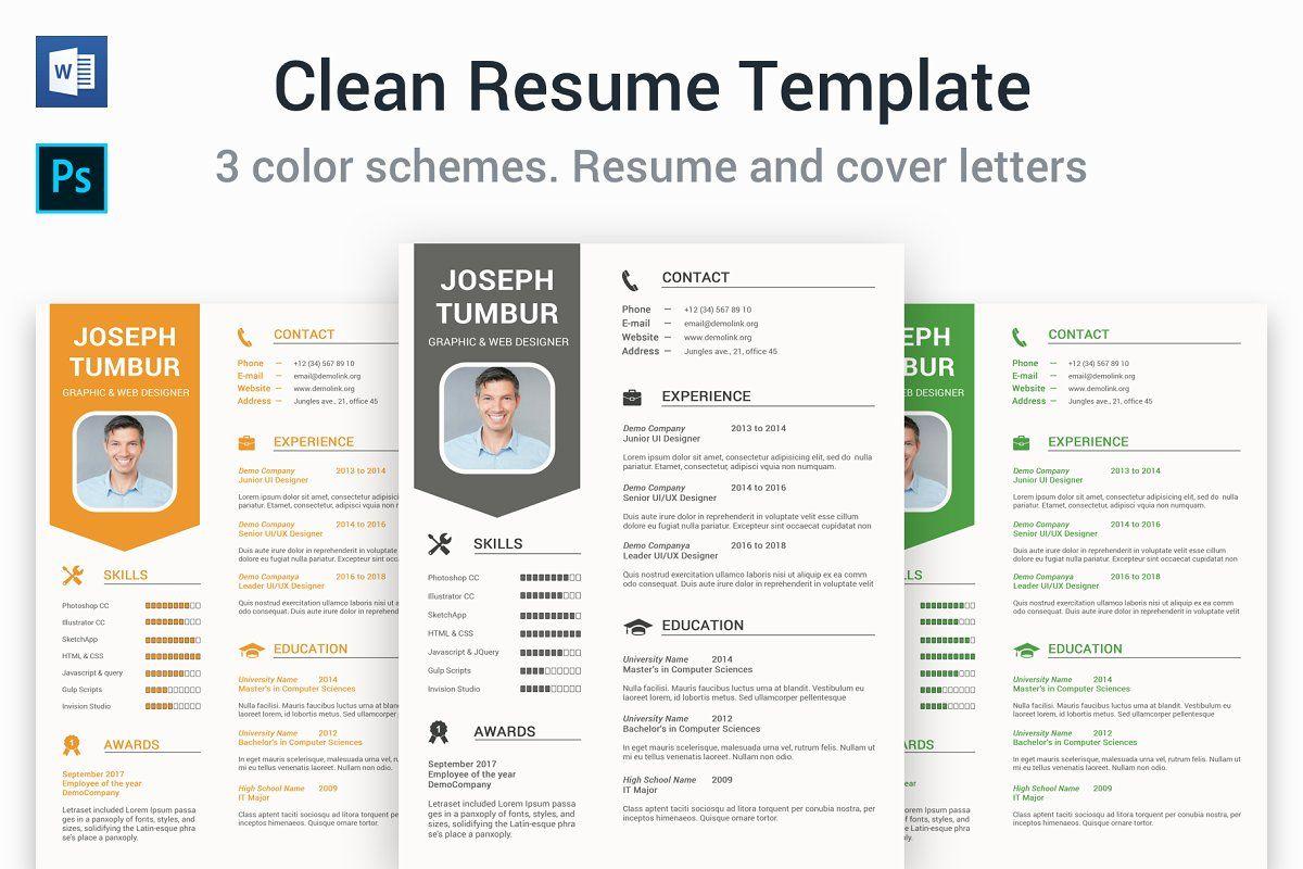 best color scheme for resume