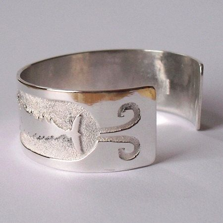 """30%OFF!!! FIRST EDITION (#1 of 25) Skydome Great Tree Eagle Bracelet 6.5""""-7.5"""" $455"""