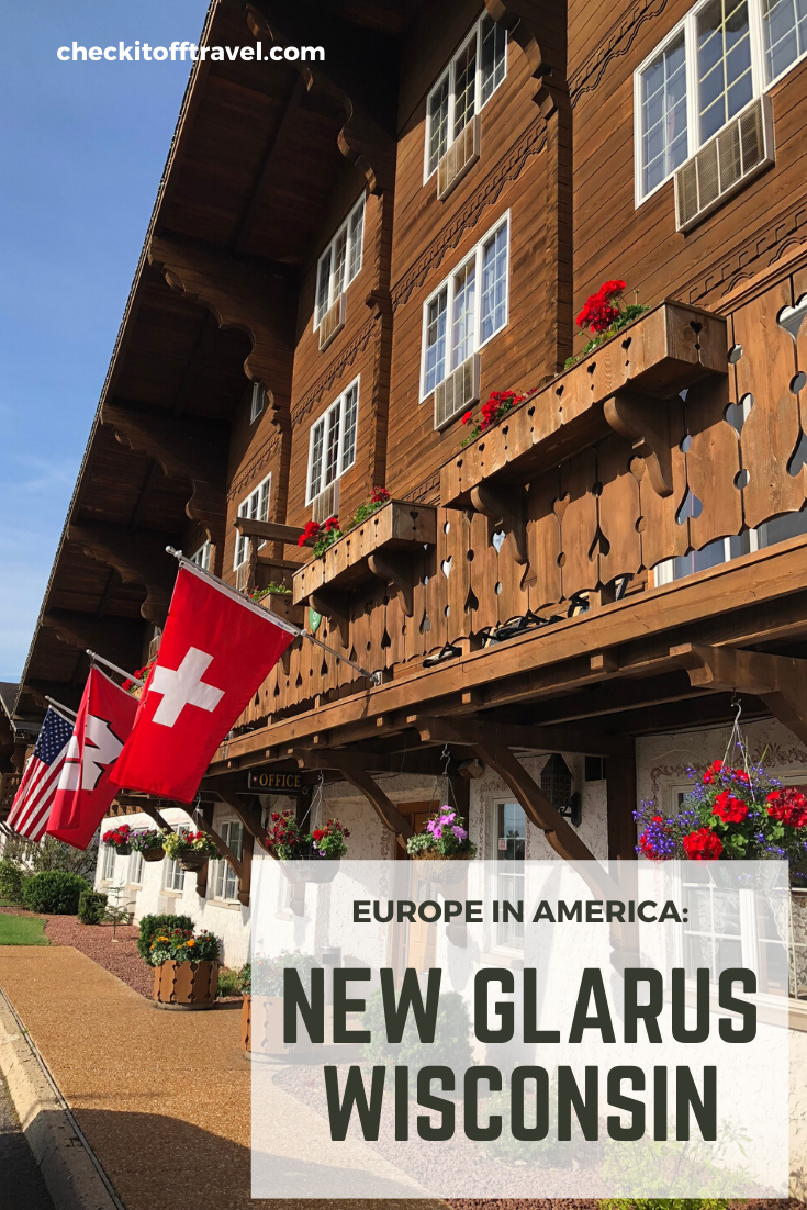 Things you must see and do in New Glarus, Wisconsin.