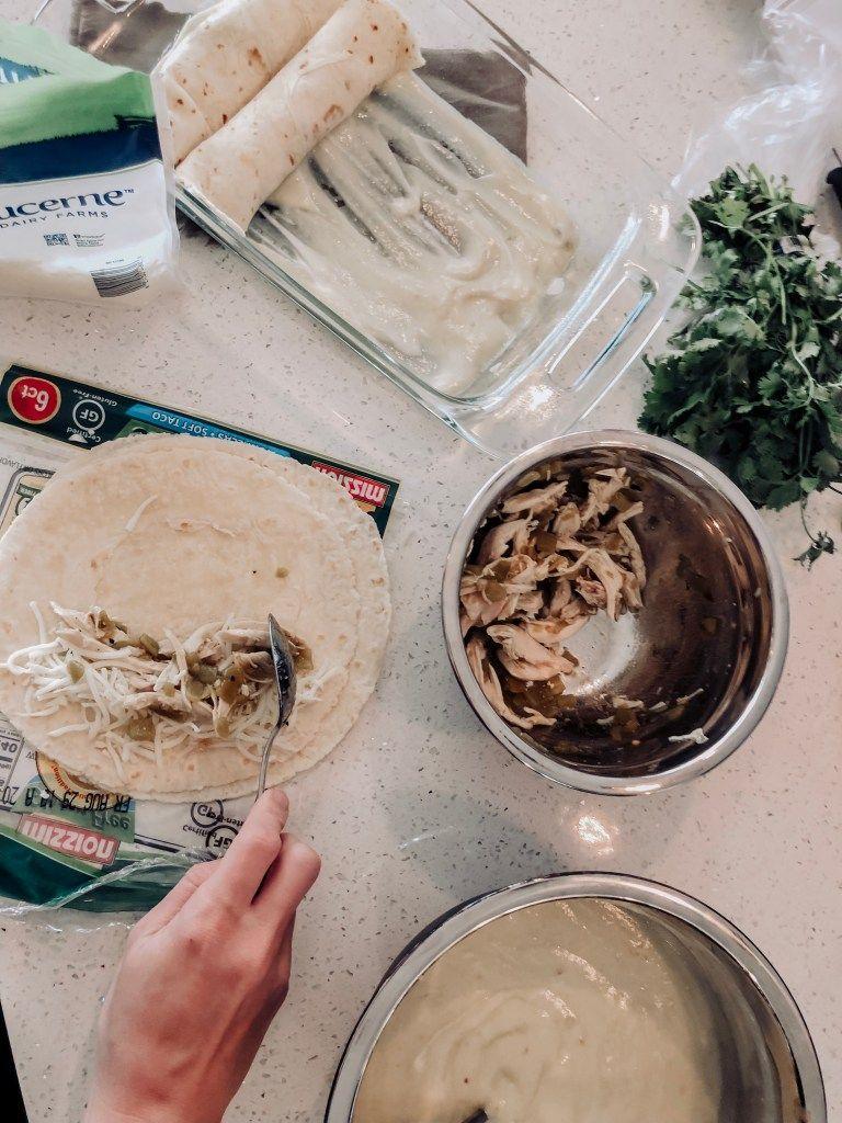 Joanna Gaines Sour Cream Chicken Enchiladas Studio Sheppard Cream Of Chicken Sour Cream Chicken Sour Cream