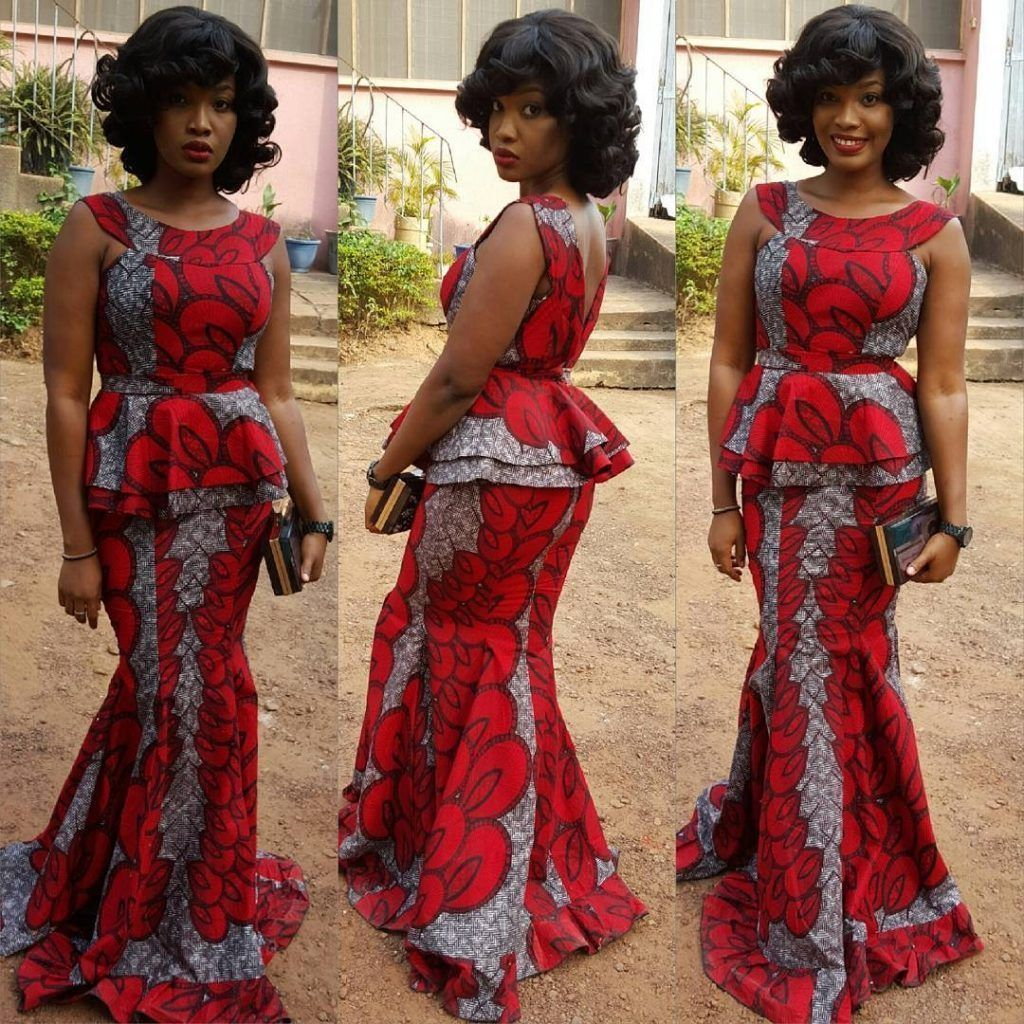African print dresses for weddings  Latest Ankara Styles Aso Ebi Nigeria Hair Styles Kids Fashion