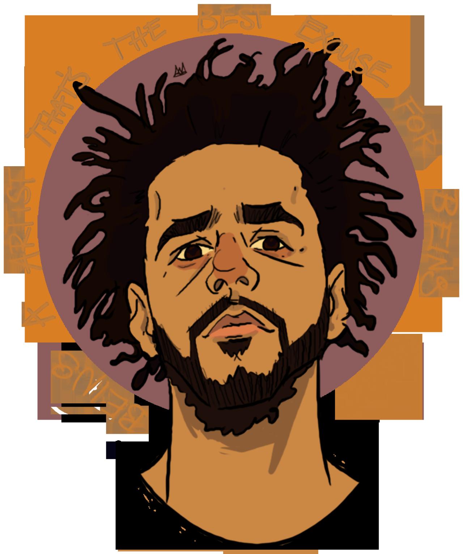 A Blog Dedicated To The Talented J Cole Oop 9 H Rapper Art J Cole Art Hip Hop Art