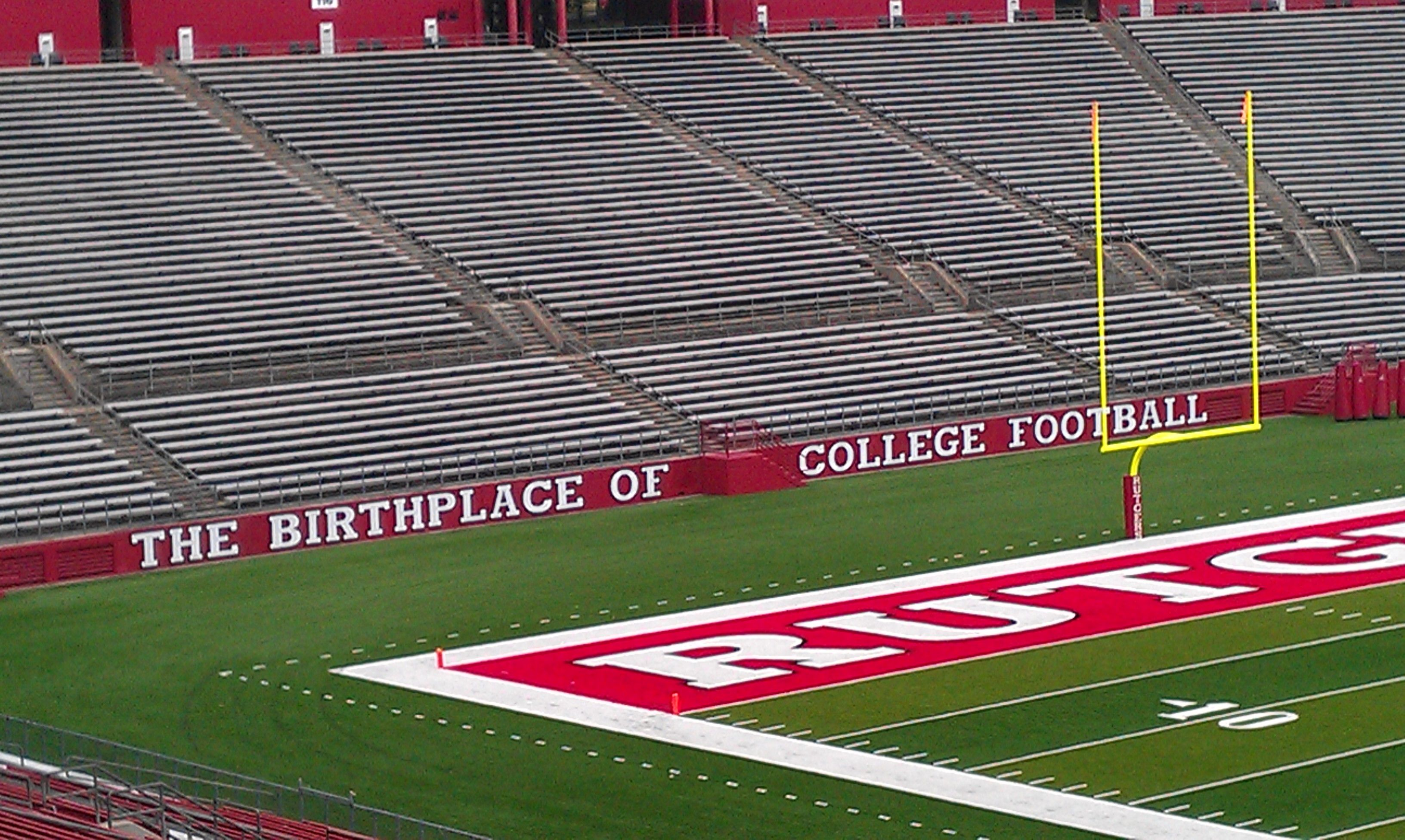 The Birthplace Of College Football Rutgers University College Sports Rutgers Scarlet Knights