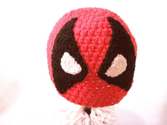 Deadpool Inspired Beanie Hat Hand by DesigningImpressions on Etsy ... 637f45194ac