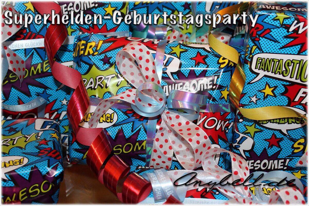 Superhelden Geburtstagsparty - anybell.de