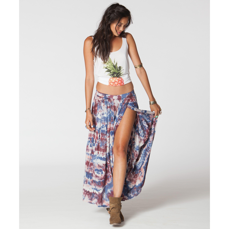 After Night Maxi Skirt | Billabong US