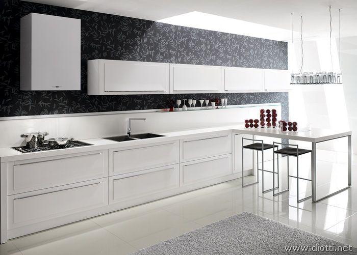 Quadra-cucina-rovere-bianco-snack | Home