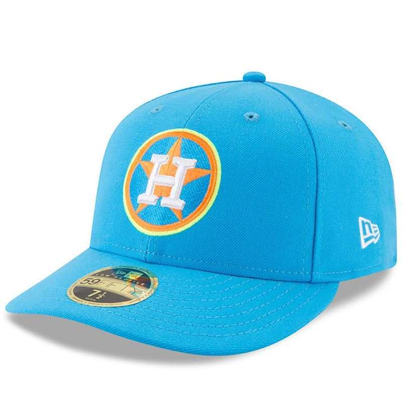 online store cd8e4 65282 ... purchase houston astros new era 2017 players weekend low profile  59fifty fitted hat blue 8c387 27e78