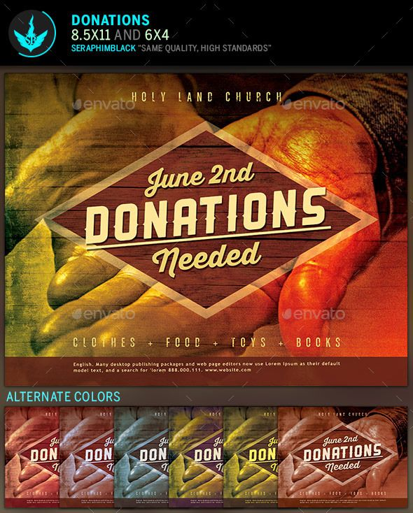 Donation Church Flyer Template – Donation Flyer Template