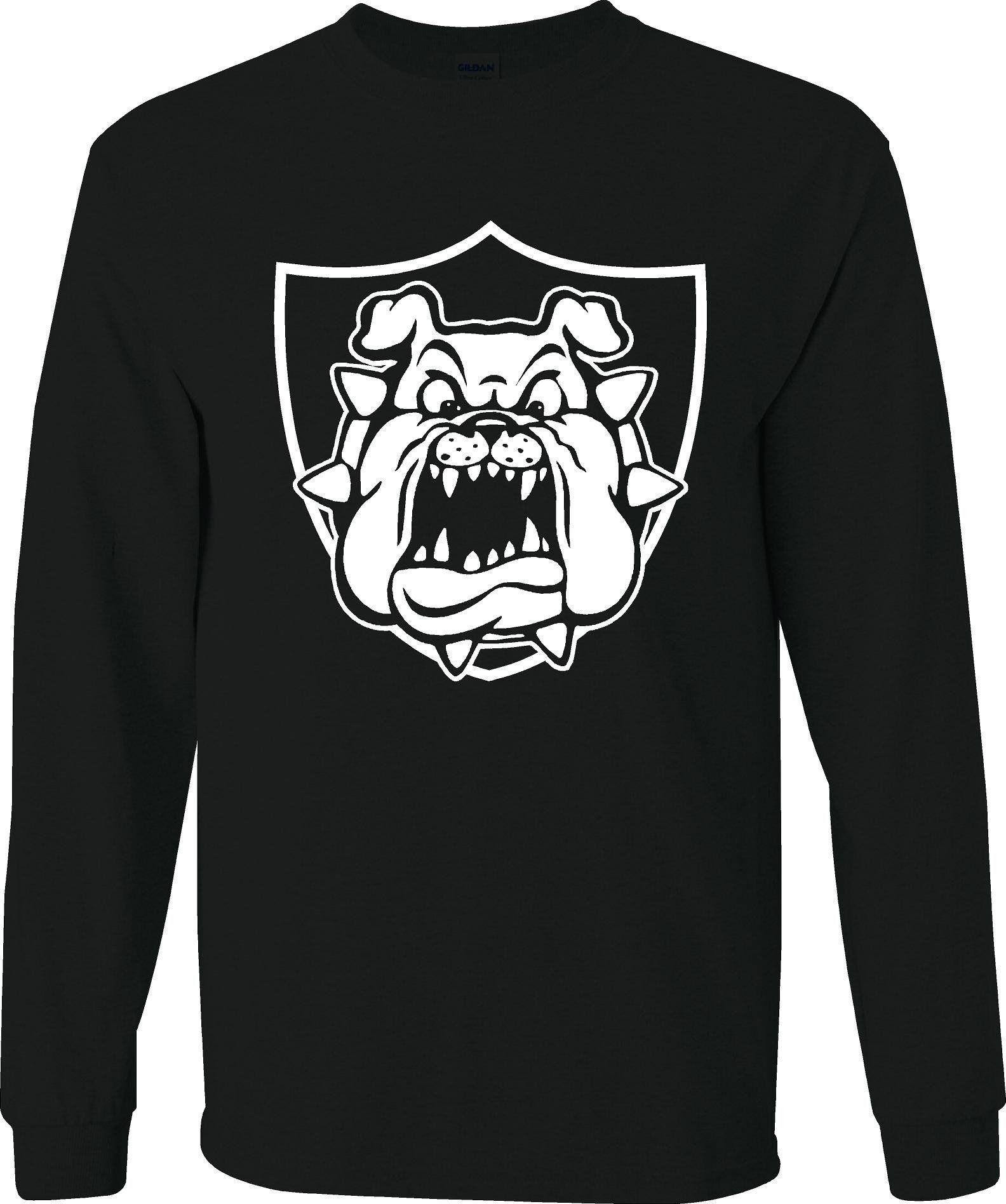 1b10c6339 Derek Carr Raider Bulldog - Raiders 4 Life Sweater | Johnson Family ...