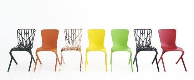 Incroyable Knoll Washington Skin And Skeleton Chairs