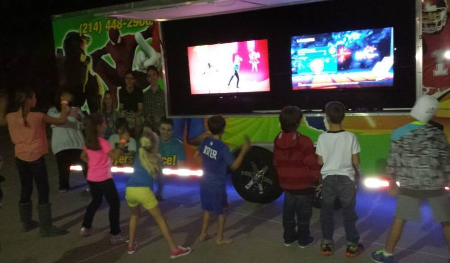 Fort Worth DFW Video Game Truck Party Aledo Weatherford TX