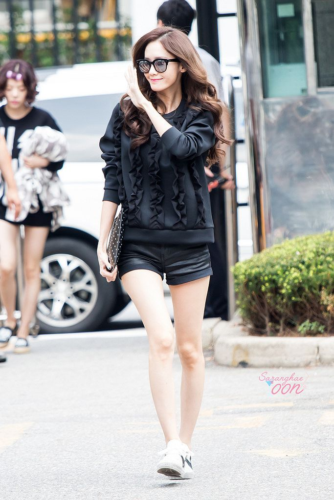 150904 Snsd Kbs Building Yoona Snsd Fashion Kpop Fashion Korean Fashion