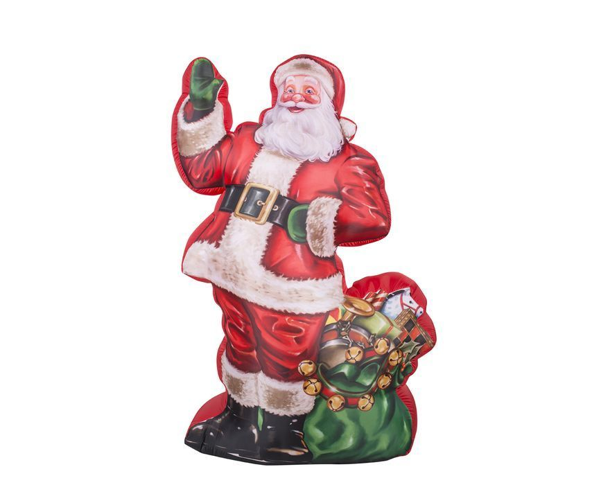 Santa Inflatable Holiday Outdoor Indoor Decor Easy Set Up Christmas - inflatable outdoor christmas decorations