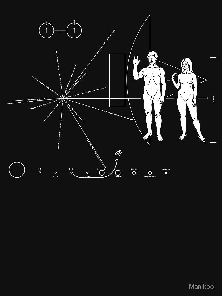 Pioneer Plaque Too Small T Shirt By Manikool Pioneer Plaque Leo Tattoos Plaque