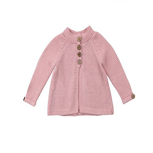 7bf6d4b45c10 KIDSA 1-8T Toddler Baby Little Big Girls Kids Long Sleeve Knit ...