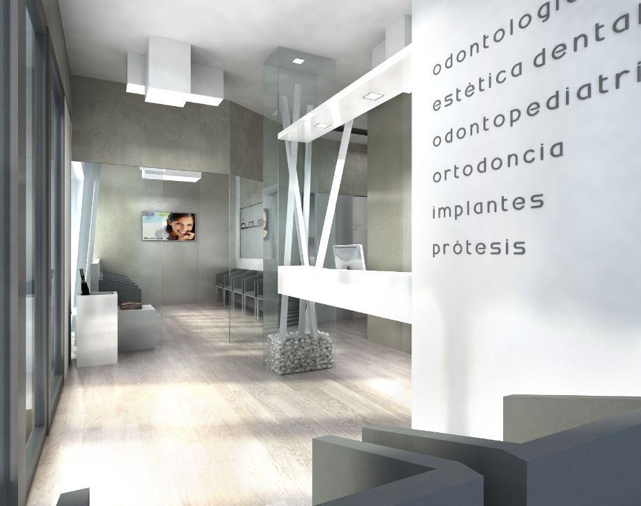 Dise o cl nicas dentales arquitectura interiorismo dise o proyectos a medida para Clinicas dentales de diseno