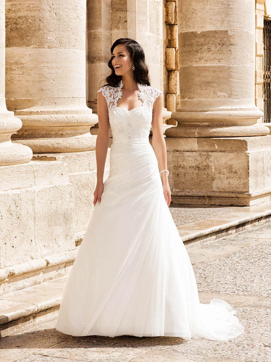 Trouwjurk 2e Huwelijk.Aangehad 2e Keus Deze Stijl Lais Les Femme Trouwen