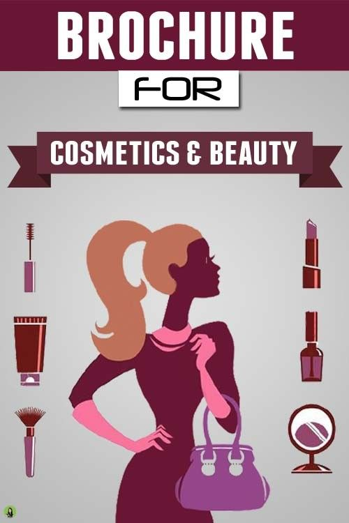 Brochure Design Services - Cosmetics and Beauty | Company