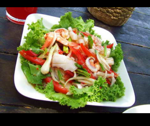 Name of the food kerabu seafood all about kerabu salad name of the food kerabu seafood forumfinder Images