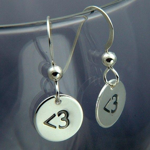 Cute! #earrings #emoticons
