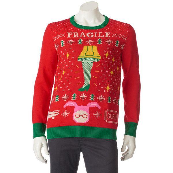 mens a christmas story leg lamp sweater 35 liked