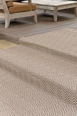 Dashandalbert Diamond Charcoal Taupe Indoor Outdoor Rug Shine On Crazy Diamond A Rug For All Seasons Made Of Sup Indoor Outdoor Rugs Rugs Dash And Albert