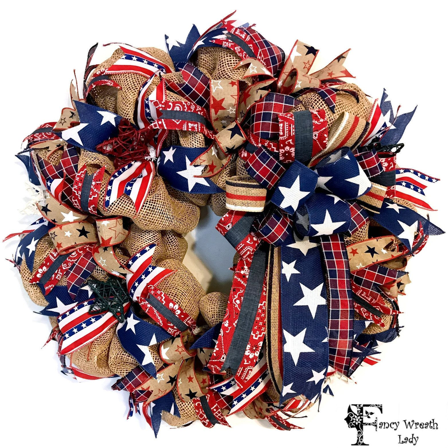 4th Of July Wreaths For Front Door