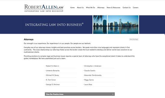 Lawyer Web Design By Paperstreet Www Paperstreet Com Web Design Lewis Design