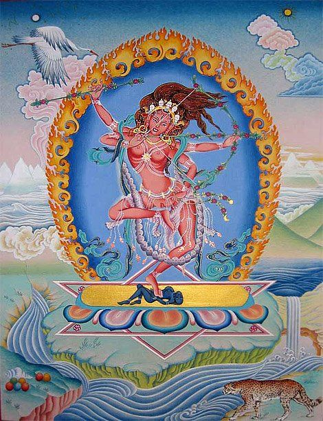 Pin by Lera @ T-Lovers on Indian Gods | Tantra art