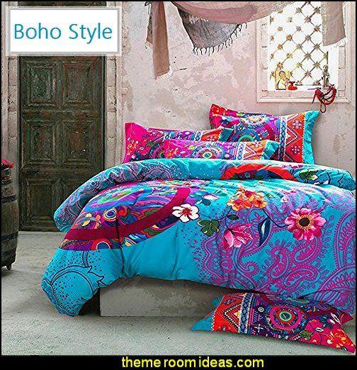 Boho Bohemian Bedding Sets Bohemian Duvet Covers Boho Bedroom