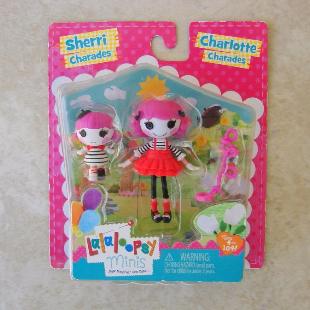 Lalaloopsy Littles Sherri Charades Doll the little sister of Charlotte Charade