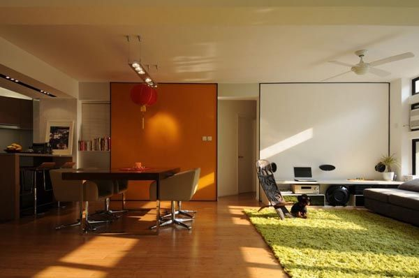 Modern Apartment Living Room/Work Studio Studio Style Pinterest
