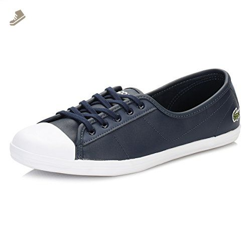 95587c607 Lacoste Ziane Bl 1 Womens Trainers Navy - 5 UK - Lacoste sneakers ...