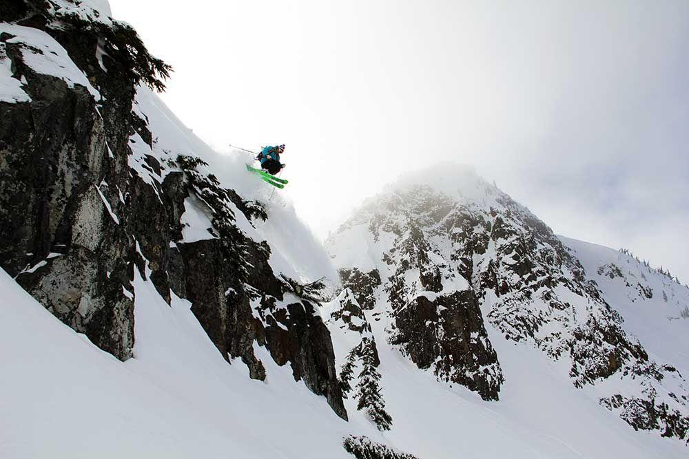 Tony Radomi finds a good thing at Mount Washington. PHOTO: Courtesy of Mount Washington