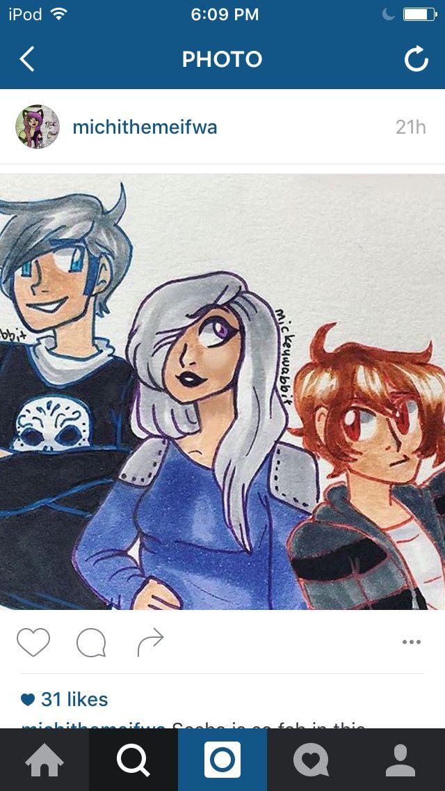 Gene, Sasha, and Zenix. The Shadow Knights. The ones who got Aph arrested last episode. I HATE U GUYS!! NICE JOB.