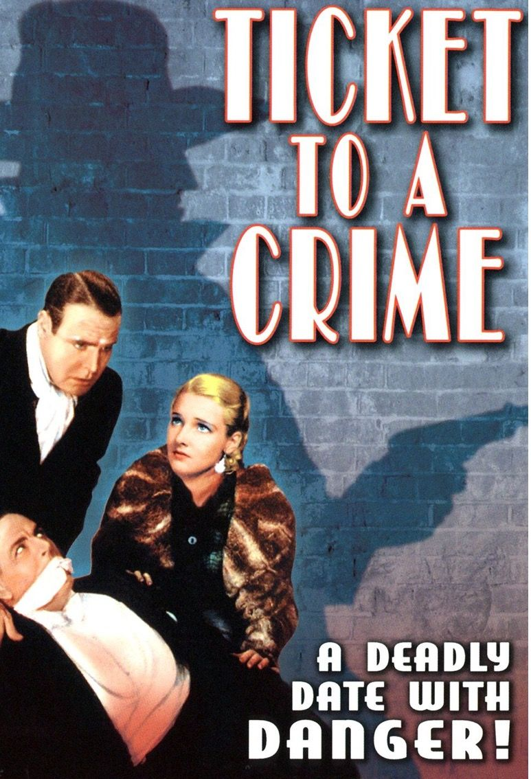 1934 film based on a Carroll John Daly story | HARD BOILED!!! in