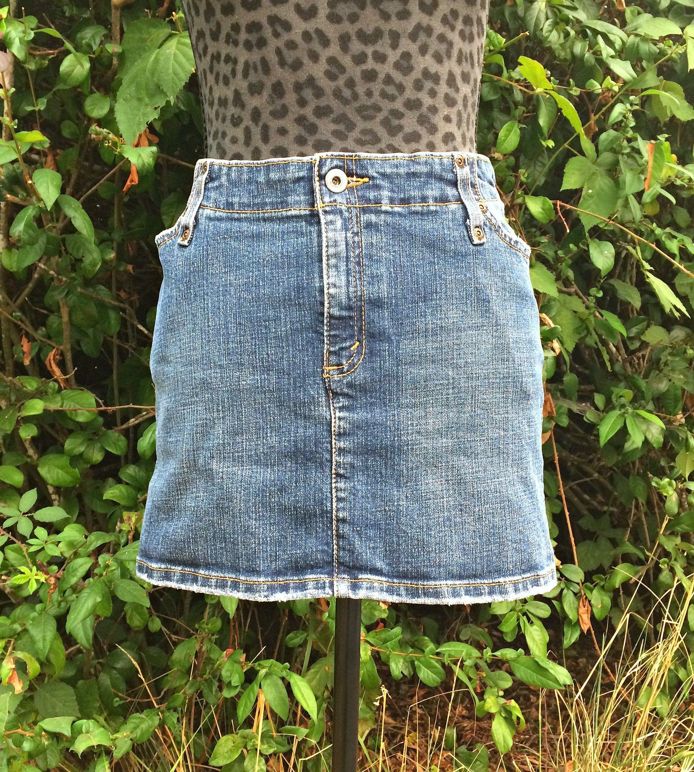 Levis Denim Mini Skirt / Vintage Levis Denim Skirt / Levis ...