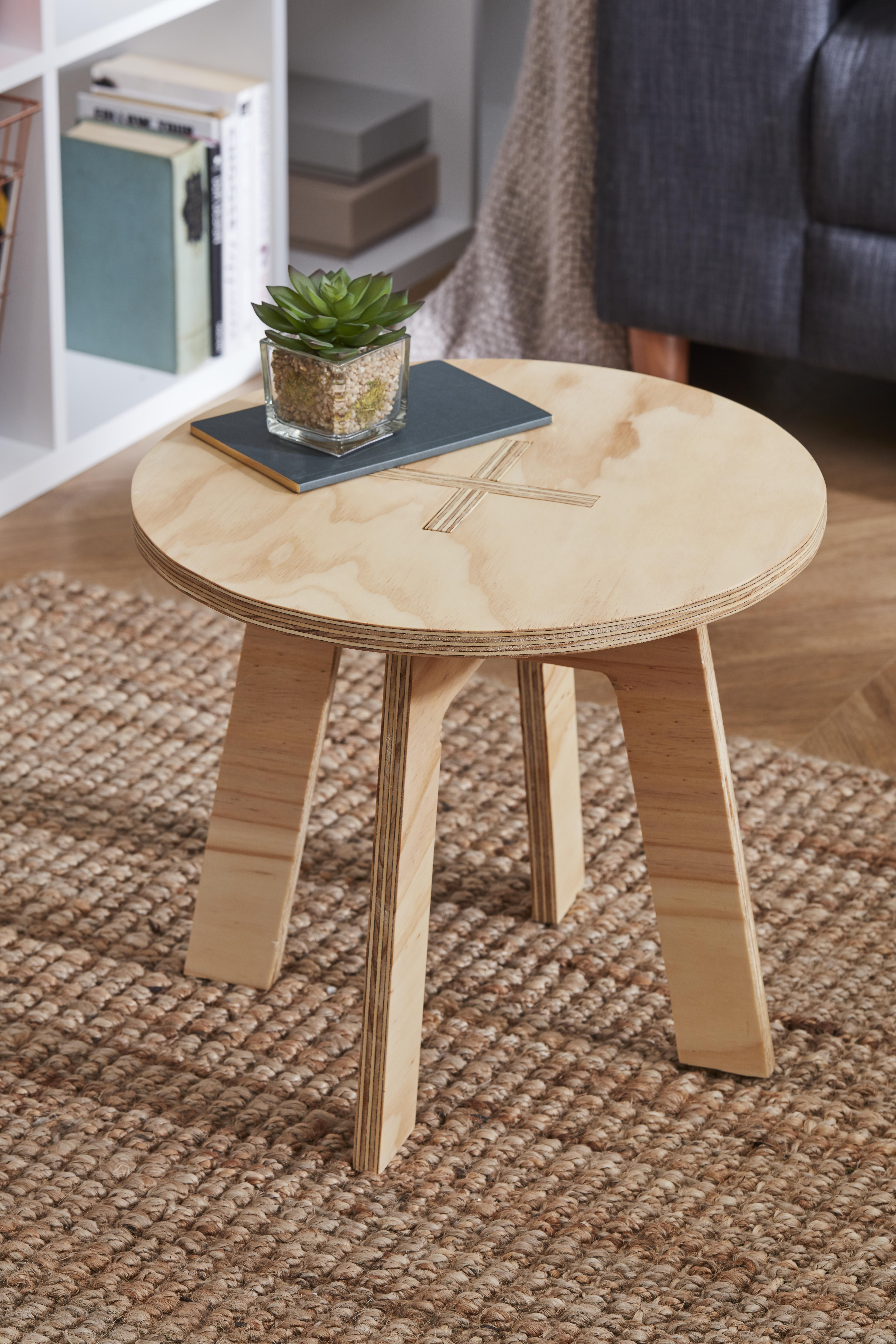 Create your very own plywood table for your home. Ideal ...