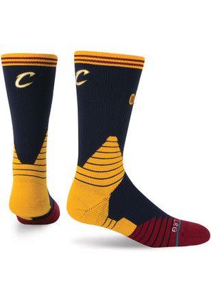 44e3b815630c Cleveland Cavaliers On Court Logo Crew Socks