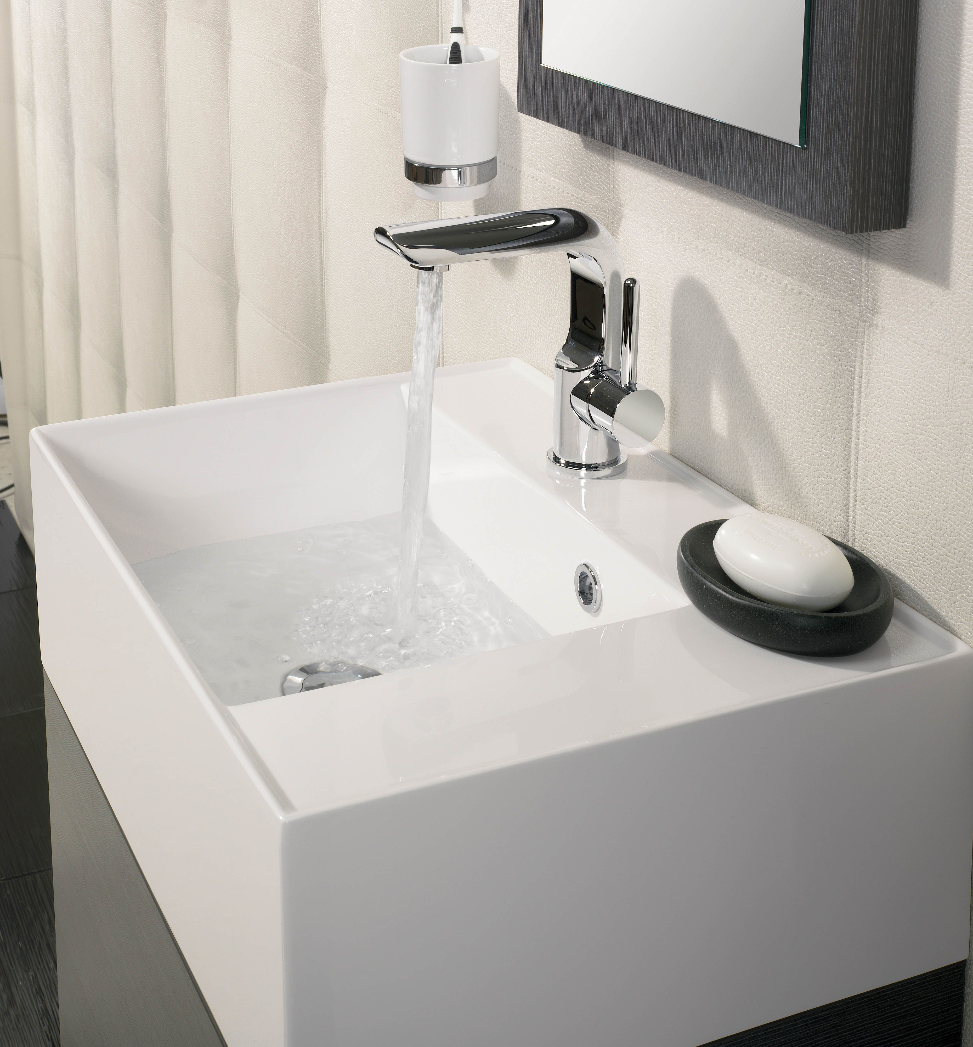 Elite Steel Bathroom Furniture Unit & Basin from