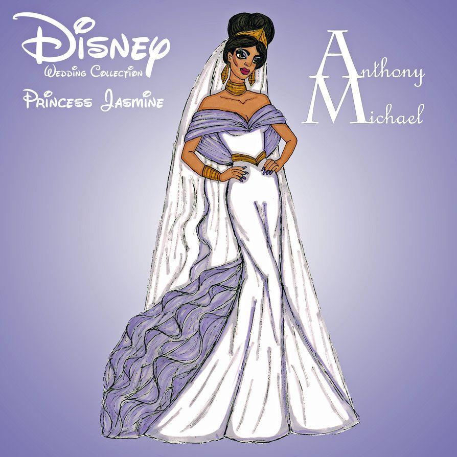 Jasmine Wedding Dress By Anth0nym1cha3l On Deviantart Disney Bride Jasmine Wedding Dress Disney Wedding [ 894 x 894 Pixel ]