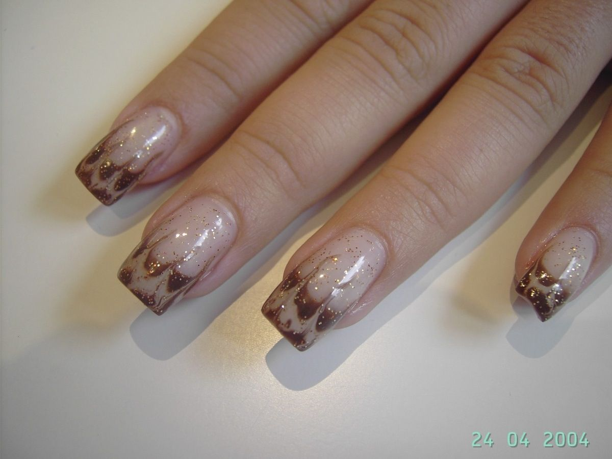Coffee Art Nails Coffee Fall Thanksgiving Nails Pinterest Nails