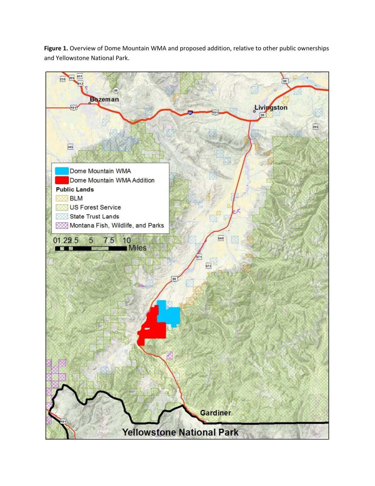 Bozeman Daily Chronicle The state is looking at adding a few thousand acres to a wildlife management area north of Yellowstone National Park where elk