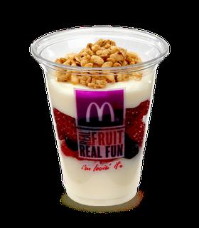 Fruit And Yogurt Parfaits Fruit And Yogurt Parfait Mcdonalds Recipes Yogurt Parfait Recipe