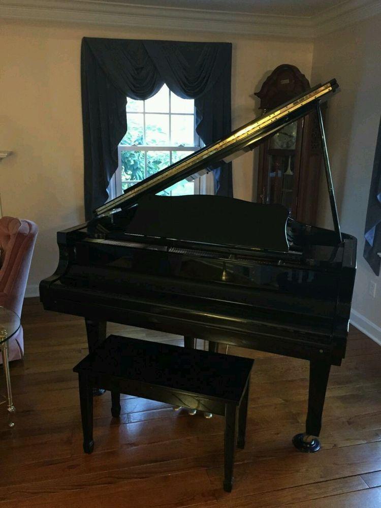 Baby Grand Piano Young Chang High Gloss Black Model G 150 Baby Grand Pianos Black Models Gloss Black