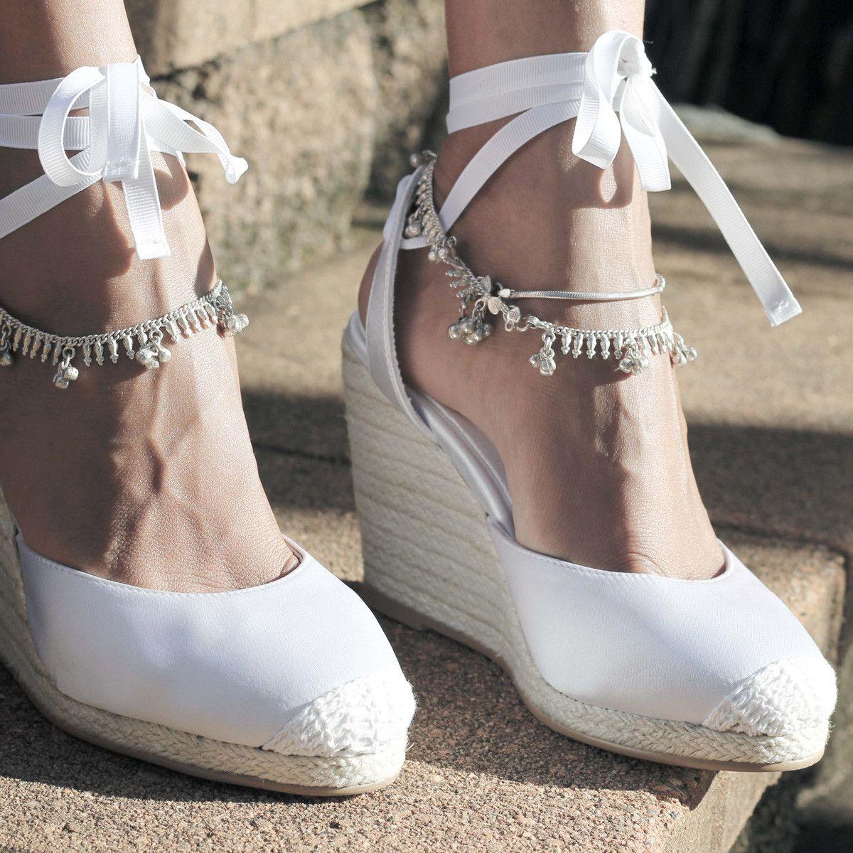 Bohemian Beach Wedding Shoes