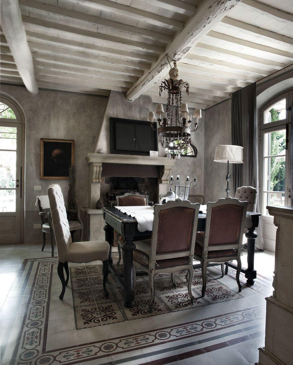 Photo gallery emanuela marchesini belles chambres en for Interni case rustiche